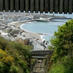 The Cliff Railway is a funicular (cable railway)