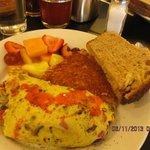 Mirabelles omelette