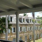 View from the Museum verandah