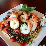 Garlic Angel with Shrimp - Garlic Rose Cranford NJ