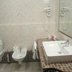 spacious sink space