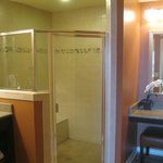 Master Bath - great shower, and dressing table