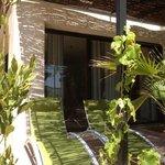 The terrace - Cormoran apartment