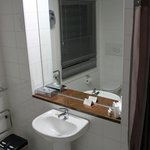 Bathroom very clean