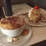 banoffee pie and cappuccino lush