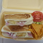 lunch deal panini for take out..