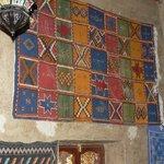 Un tapis mural berbère de la suite
