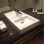 bathroom sink - very clean