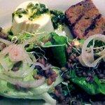 panna cotta salad