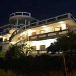 Night view of Casa Iguana de Mar y Sol