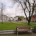 Eyre Square in April