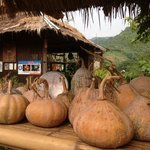 """home grown pumpkin - we just missed his specialty """"fried pumpkin"""""""
