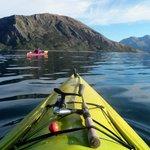Kayaking on Lake Wanaka