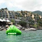 Hotel desde el mar