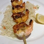 Redrock grilled shrimp