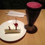 Tres Leches Cake and Chicha Morada