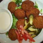 The Falafal is so delish and spiced just the right way. Traditional. Clean. Awesome.