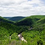 World's End Park is nearby (Loyalsock Canyon Vista)