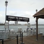 Ferry dock on the Coronado side