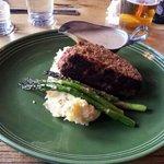Buffalo Meatloaf.