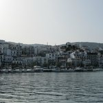 Skiathos town on return