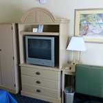 TV, Kühlschrank, Mikrowelle vorhanden