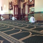 beautiful mosque at Friday Juma