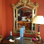 mirror at the room