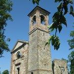 chiesa di settefonti che si trova nei paraggi della palazzina