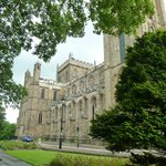 A relaxing view of Ripon Cathedral