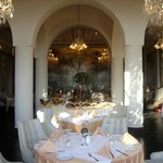 Dining room at breakfast
