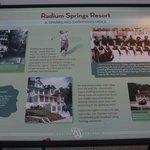 Radium Springs Gardens - History