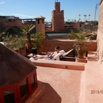 une des vue de la terrasse