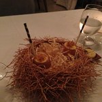 Birds nest .. But not!! Beautiful and tastes amazing!