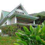 Das Haus: unsere Terrasse