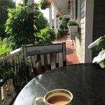 A little solitude on the veranda