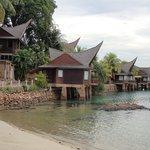 Villa with sea facing view