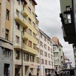 bâtiment vue de la rue