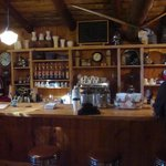 coffee bar in the Lodge
