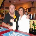 Toni & Derek with their Pina Colada!