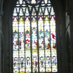 Stained Glass Window Above Alter