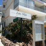 Main Entrance for Las Olas