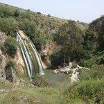 cascada del Molino desde el sendero superior