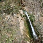 Cascada del Horno desde el sendero superior