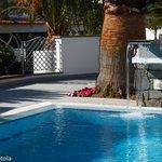 Dettaglio della piscina principale