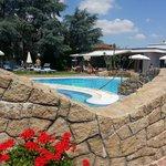piscina termale esterna