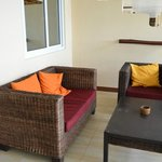 Private terrace in the room