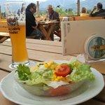 Der Haxensalat (5,70 €)
