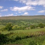 Where the restaurant is situated in the Black Mountains