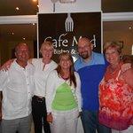 Dad, Lesley, Me, David, Mum